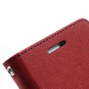 Diary pouzdro na mobil Samsung Galaxy S Duos/Trend Plus - červené - 7