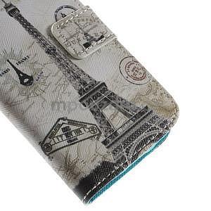 Peněženkové pouzdro pro Samsung Galaxy S4 mini - Eiffelova věž - 7