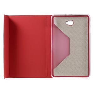 Flippy stylové pouzdro na Samsung Galaxy Tab A 10.1 (2016) - červené - 7