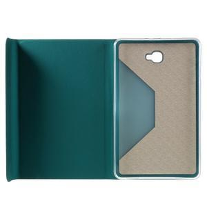 Flippy stylové pouzdro na Samsung Galaxy Tab A 10.1 (2016) - zelenomodré - 7