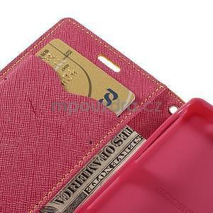 Diary peněženkové pouzdro na mobil Sony Xperia Z3 Compact - žluté - 7