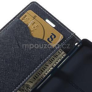Diary peněženkové pouzdro na mobil Sony Xperia Z3 Compact - azurové - 7