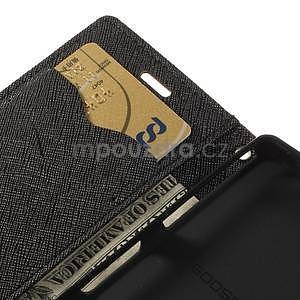 Diary peněženkové pouzdro na mobil Sony Xperia Z3 Compact - hnědé - 7
