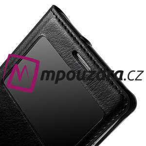Luxusní pěněženkové pouzdro na Samsung Galaxy S3 i9300 - černé - 7