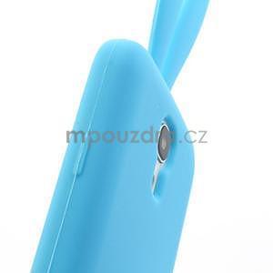 Silikonový obal na Samsung Galaxy S4 mini - modrý králík - 7