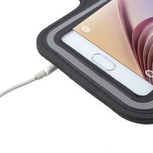 Fittsport pouzdro na ruku pro mobil do rozměrů 143.4 x 70,5 x 6,8 mm - bílé - 7
