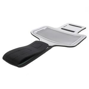 Fittsport pouzdro na ruku pro mobil do rozměrů 143.4 x 70,5 x 6,8 mm - šedé - 7
