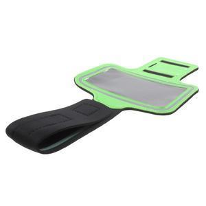 Fittsport pouzdro na ruku pro mobil do rozměrů 143.4 x 70,5 x 6,8 mm - zelené - 7
