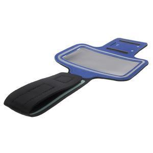 Fittsport pouzdro na ruku pro mobil do rozměrů 143.4 x 70,5 x 6,8 mm - modré - 7
