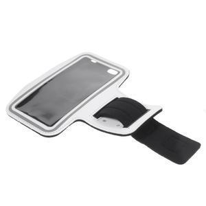 Gym běžecké pouzdro na mobil do rozměrů 153.5 x 78.6 x 8.5 mm - bílé - 7
