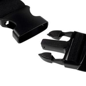 Sportovní kapsička přes pas na mobily do rozměrů 149 x 75 mm - černé - 7