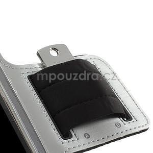 Run běžecké pouzdro na mobil do velikosti 131 x 65 mm - šedé - 7