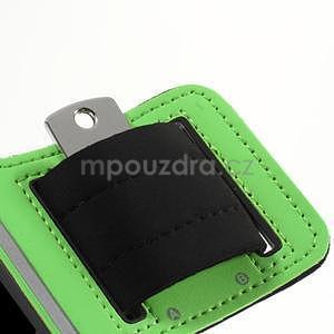 Run běžecké pouzdro na mobil do velikosti 131 x 65 mm - zelené - 7