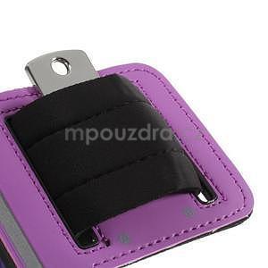 Run běžecké pouzdro na mobil do velikosti 131 x 65 mm - fialové - 7