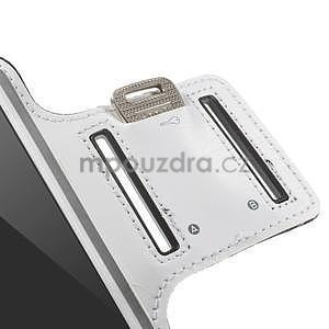 Gymfit sportovní pouzdro pro telefon do 125 x 60 mm - bílé - 7