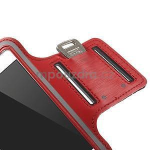 Gymfit sportovní pouzdro pro telefon do 125 x 60 mm - červené - 7