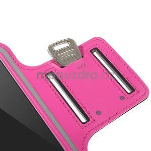 Gymfit sportovní pouzdro pro telefon do 125 x 60 mm - rose - 7