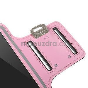Gymfit sportovní pouzdro pro telefon do 125 x 60 mm - růžové - 7