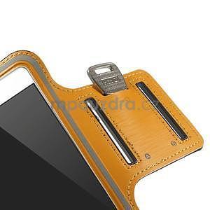 Gymfit sportovní pouzdro pro telefon do 125 x 60 mm - oranžové - 7