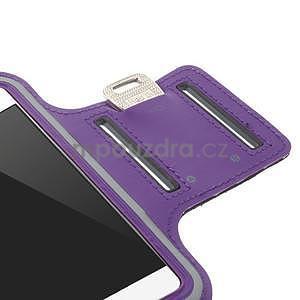 Gymfit sportovní pouzdro pro telefon do 125 x 60 mm - fialové - 7