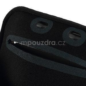 Soft pouzdro na mobil vhodné pro telefony do 160 x 85 mm - bílé - 7