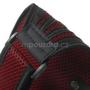 Absorb sportovní pouzdro na telefon do velikosti 125 x 60 mm - červené - 7