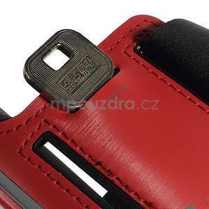 Soft pouzdro na mobil vhodné pro telefony do 160 x 85 mm - červené - 7