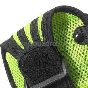 Absorb sportovní pouzdro na telefon do velikosti 125 x 60 mm - zelené - 7