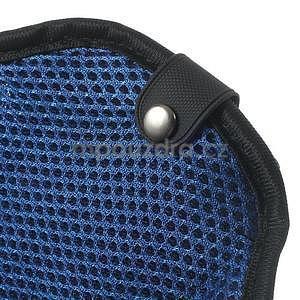 Absorb sportovní pouzdro na telefon do velikosti 125 x 60 mm - modré - 7