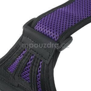 Absorb sportovní pouzdro na telefon do velikosti 125 x 60 mm - fialové - 7