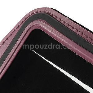 Soft pouzdro na mobil vhodné pro telefony do 160 x 85 mm - růžové - 7