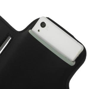 Všestranné pouzdro na ruku do rozměru telefonu 146 x 73 mm - černé - 7