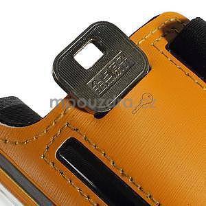 Soft pouzdro na mobil vhodné pro telefony do 160 x 85 mm - žluté - 7