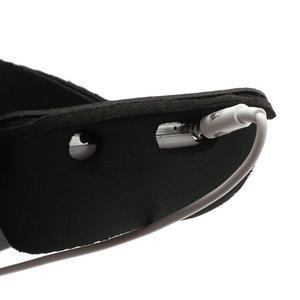Sportovní pouzdro na ruku až do velikosti mobilu 140 x 70 mm - černé - 7
