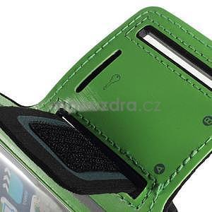Soft pouzdro na mobil vhodné pro telefony do 160 x 85 mm - zelené - 7