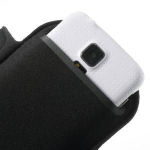 FitGym pouzdro na ruku pro telefon až do velikosti 145 x 73 mm - černé - 7