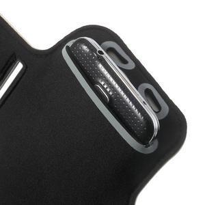 Fitsport pouzdro na ruku pro mobil do velikosti až 145 x 73 mm - bílé - 7