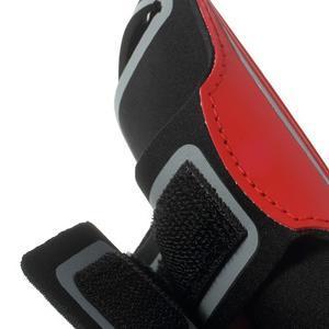 Fitsport pouzdro na ruku pro mobil do velikosti až 145 x 73 mm - červené - 7