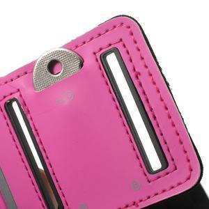 Fitsport pouzdro na ruku pro mobil do velikosti až 145 x 73 mm - rose - 7