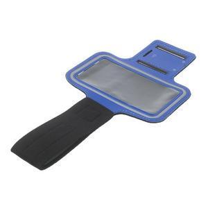 Fitsport pouzdro na ruku pro mobil do velikosti až 145 x 73 mm - tmavěmodré - 7