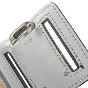 Fitsport pouzdro na ruku pro mobil do velikosti až 145 x 73 mm - šedé - 7