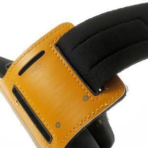 Fitsport pouzdro na ruku pro mobil do velikosti až 145 x 73 mm - oranžové - 7