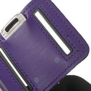 Fitsport pouzdro na ruku pro mobil do velikosti až 145 x 73 mm - fialové - 7