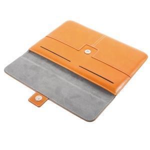 Business univerzální pouzdro na tablet do rozměru 226 x 149 mm - oranžové - 7