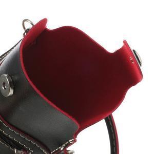 Univerzální pouzdro/kapsička na mobil do rozměru 180 x 110 mm - černé - 7