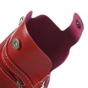 Univerzální pouzdro/kapsička na mobil do rozměru 180 x 110 mm - červené - 7