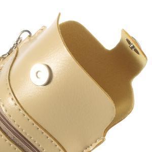 Univerzální pouzdro/kapsička na mobil do rozměru 180 x 110 mm - champagne - 7