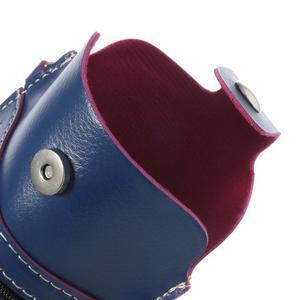 Univerzální pouzdro/kapsička na mobil do rozměru 180 x 110 mm - modré - 7