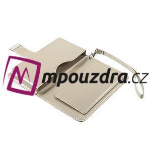 Luxusní univerzální pouzdro pro telefony do 140 x 70 x 12 mm - zlaté - 7