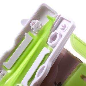 Nox7 vodotěsný obal na mobil do rozměru 16.5 x 9.5 cm - zelený - 7